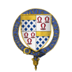 The Coat of Arms of Sir Anthony St. Leger KG